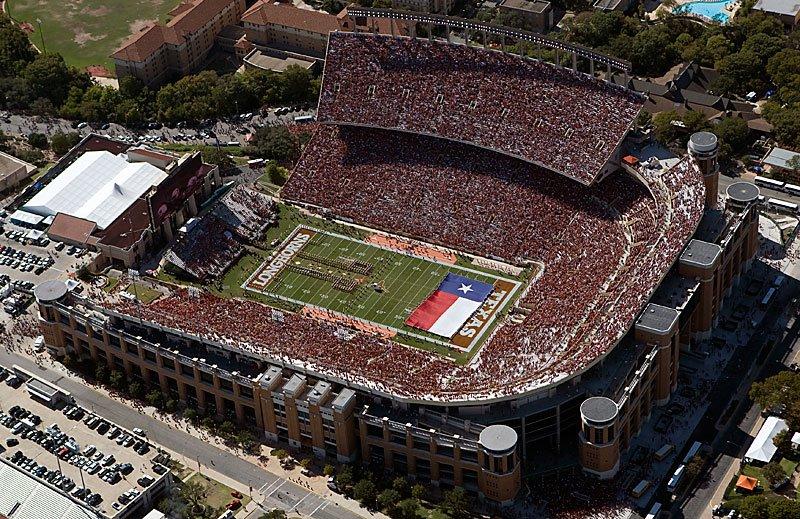Darrell K. Royal-Texas Memorial Stadium/Jamail Field Section 101 ...